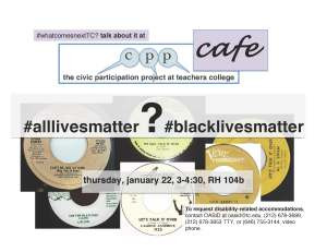 blacklives alllives cafe