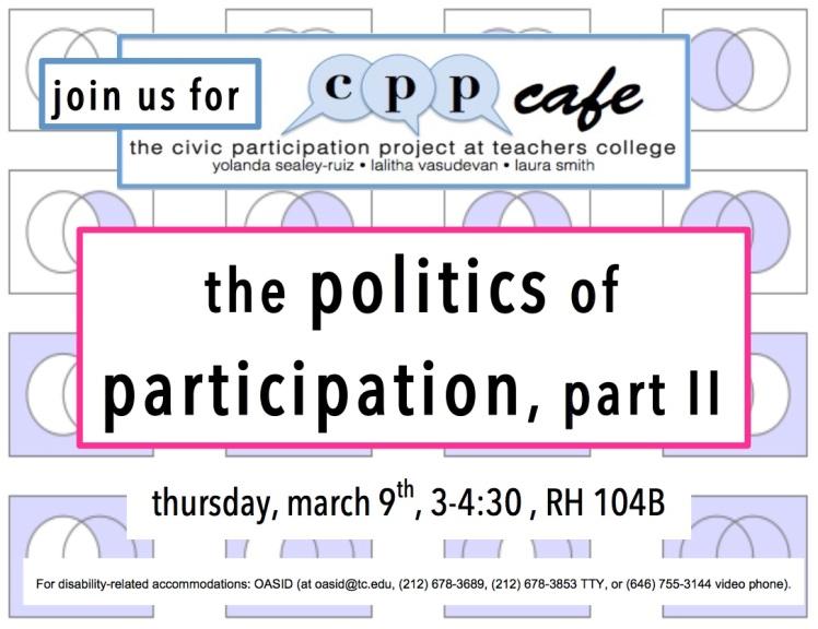 politics of part 2